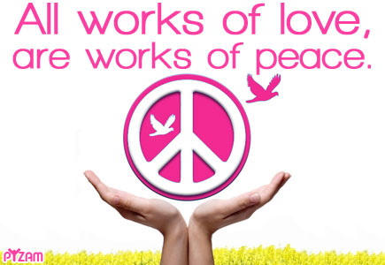 My Holiday Message Love And Peace Peace And Love Sent With